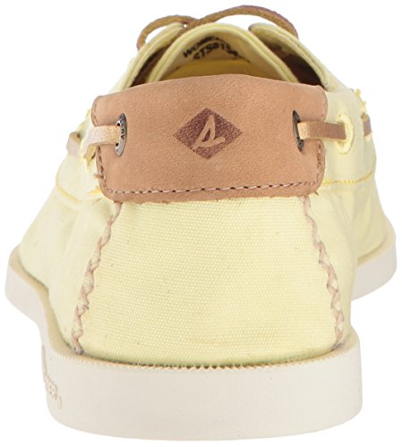 Sperry Sider Yellow A O Canvas Women's Shoe Top Boat Venice wwrtzxWq51