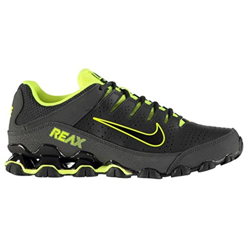 NIKE Mens Reax 8 TR, Anthracite/Black-Volt, 11 D(M) (Nike Reax Run)