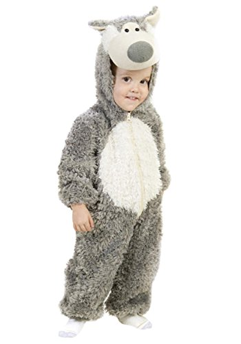 Princess Paradise Child's Big Bad Wolf Deluxe Costume, As Shown, -