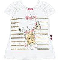 Blusa Manga Curta em Cotton Light - Hello Kitty