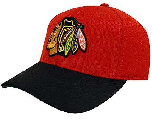 - Reebok Chicago Blackhawks CCM Structured Adjustable Slouch Hat