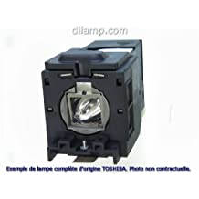 TDP-MT200 Toshiba Projector Lamp Replacement. Projector Lamp Assembly with High Quality Genuine Original Phoenix Bulb inside.
