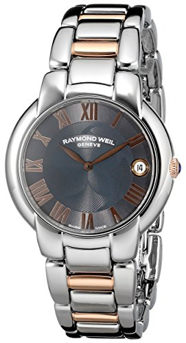 Raymond Weil Women's 5235-S5-01608 Jasmine Analog Display Swiss Quartz Two Tone Watch
