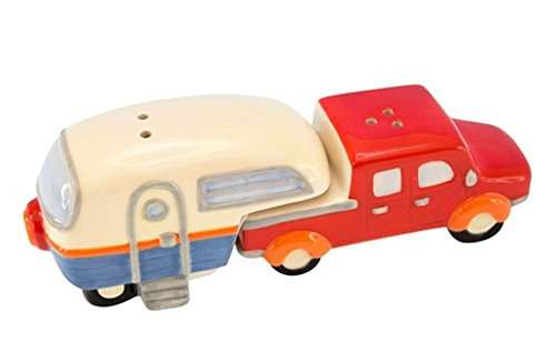 Truck And Camper Salt And Pepper Shaker Set made our CampingForFoodies hand-selected list of 100+ Camping Stocking Stuffers For RV And Tent Campers!