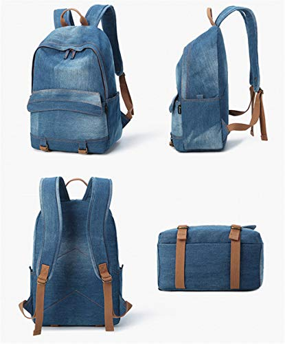 Main à au Blau1 Bleu porté Sac Dos JUND Blau1 Femme pour qEP51wT