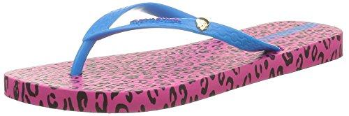 Ipanema WoMen Animal Print Flip Flops Pink (23927)