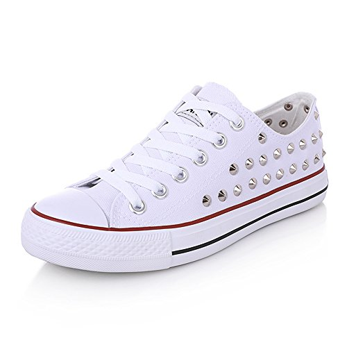 Solid Flat Toe Flat Skate Round White Canvas Shoes Shoes Canvas frist Shoes Heel Cross Color Super Strap 0nqIzX4x