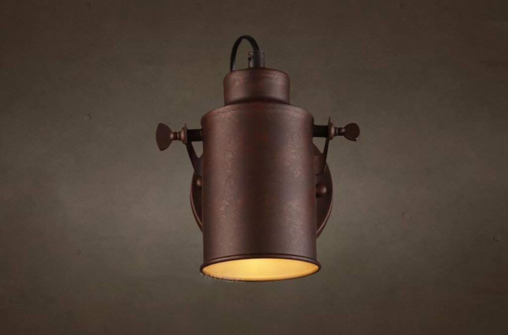 HhGold Retro Wandleuchte Licht LOFT Eisen Eisen Eisen Industrie LOFT Wandleuchte Gang Dekorative Beleuchtung American Restaurant Bar (Farbe   -, Größe   -) e1201f