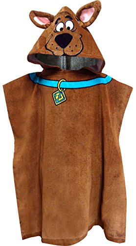 Scooby-Doo Hooded Poncho Bath Or Beach Towel Fits Size 4