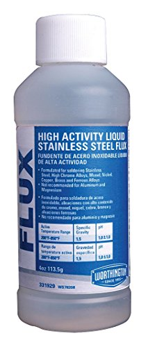 Stainless Steel Flux, 4 Oz, 200-850 F