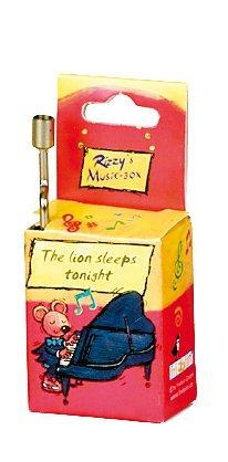 Fridolin 59066 The Lion Sleeps Tonight Rizz's Music Box