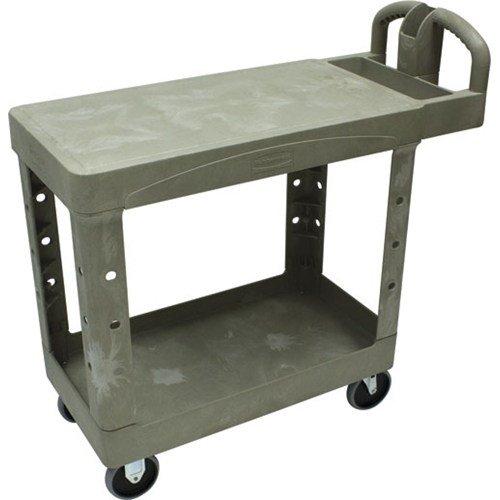 (Rubbermaid/Newell Brands - 881356 - Fg450500black 4505-88 Black 2 Flat Shelf Cart )