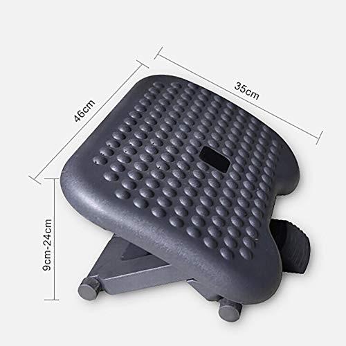 Under Desk Foot Rest Massager Ergonomic Footrest For Under Desk Soothes Adjustable Angle And Massaging Bumps by RSGK (Image #2)