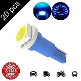 LED Monster 20 x T5 1 SMD Blue Chip Instrument Speedo DASHBOARD LED CAR LIGHT For 1990-2012 Honda Civic
