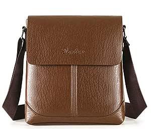 Bag For Men,Dark Brown - Messenger Bags