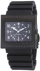 Hamilton H79585333 - Reloj de caballero automático, correa de goma color negro