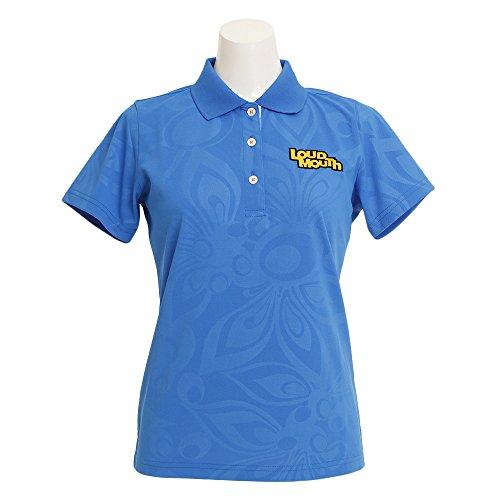 伝染性愚かディスパッチラウドマウスゴルフ Loud Mouth Golf 半袖シャツ?ポロシャツ 半袖ポロシャツ レディス