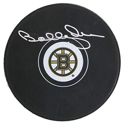 - Bobby Orr Boston Bruins Signed Autographed Bruins Logo NHL Hockey Puck COA