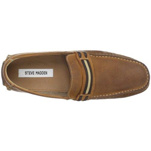 Steve Madden Mens Grab Slip-on In Pelle Color Cuoio