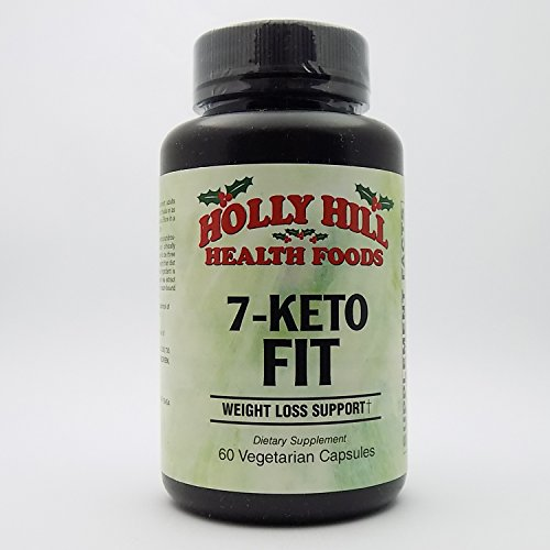 Holly Hill Health Foods, 7-Keto Fit, 60 Vegetarian Capsules