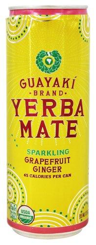 Guayaki - Organic Yerba Mate Sparkling Grapefruit Ginger - 12 fl. oz.