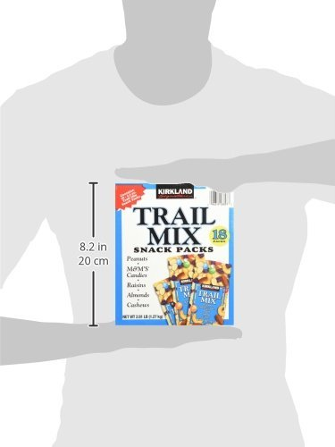 Signature Trail Mix Snacks, Peanut, M7M Candies, Raisins, Almonds, Cashews, 2.81 - Pound (2 Boxes)
