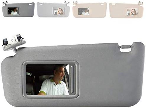 Dasbecan Sun Visor for Toyota RAV4 2006-2013 Left Driver Side with Vanity Light 74320-42501-B2