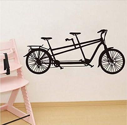 Tándem bicicleta desmontable habitación de los niños decoración ...