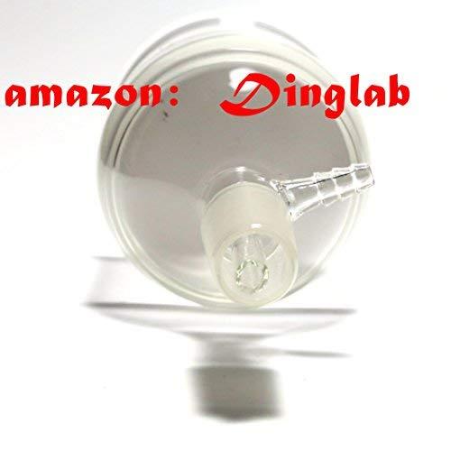 Dinglab,2000ml,24/40,Glass Suction Filtration Kit,500ml Buchner Funnel & 2L Erlenmeyer Flask
