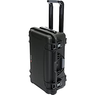 Nanuk 935 Waterproof Hard Case with Wheels and Padded Divider - Silver