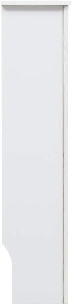 UnfadeMemory Heizk/örperabdeckung Heizk/örperverkleidung Wei/ß Heizk/örper Dekorativ Heizungsverkleidung Abdeckung MDF mit mattem Finish f/ür Heizk/örper 152 x 19 x 81,5 cm, Typ 1
