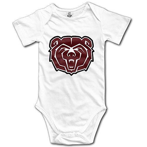 Baby Boys' Missouri State University Bears Logo Romper Jumpsuit Bodysuit Outfits