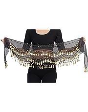 The Turkish Emporium näsduk myntduk höftbälte hip scarf Bauchance Samba Belly Dance