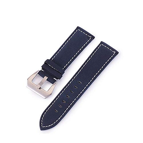 Acingo 20Mm Watch Strap Genuine 22Mm Band 18-24Mm Accessories Leather Watchbands (35 Mm Bridle)