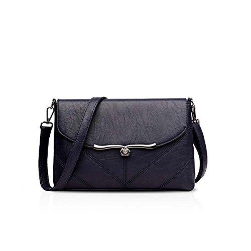 Bag Bandolera Hombro Bags Crossbody Mensajero de Azul Bolsos NICOLE amp;DORIS PU Señoras C de Mujer Bolso Bolsa OI4wx