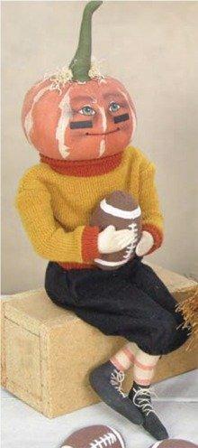 Dan Pumpkin Soft Sculpture - Soft Sculpture Toys