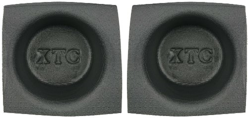 Install Bay Speaker Baffle 6 1/2 Inch Round Small Frame Pair -VXT65