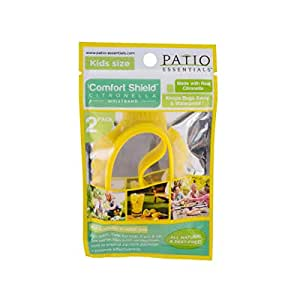 Patio essentials Citronella Scented Wristbands for Kids Pack of 2