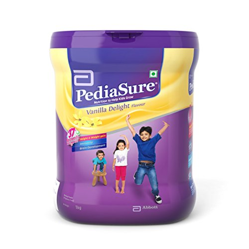 PediaSure Vanilla Delight 1Kg/35.2Oz - Plastic Jar - for Kids 2 years to 10 years