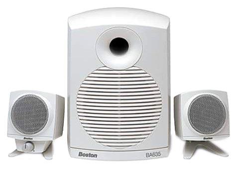 Boston Acoustics BA635 3-Piece Multimedia Computer Speakers