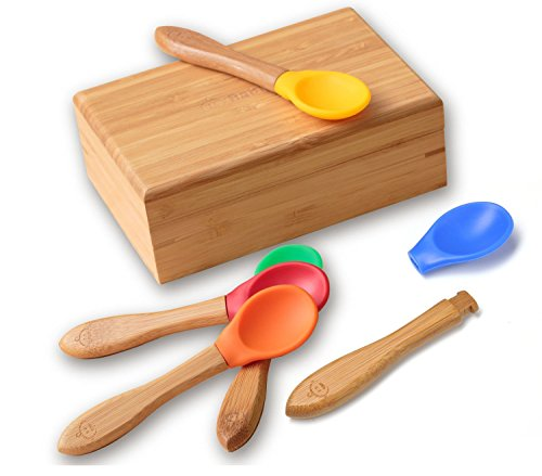 Bamboo Baby Spoons Set -...