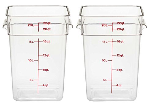 Cambro Square Food Storage Container Sets Dandk Organizer
