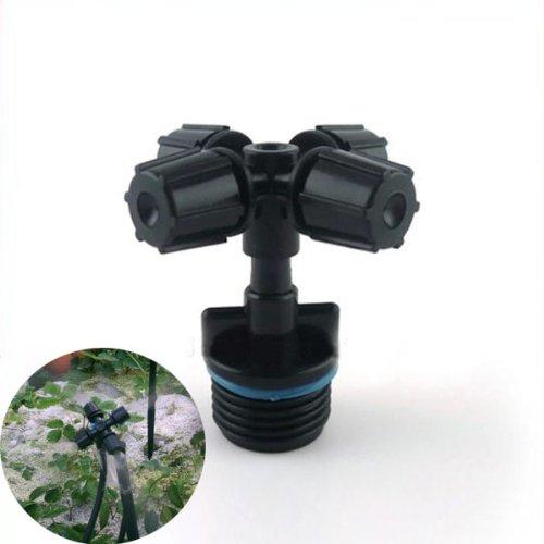 Plastic Automatic Four Micro Nozzle Cross Atomizer
