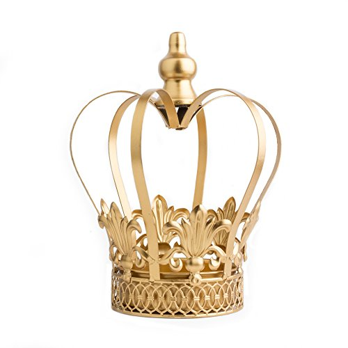 Gold Crown, Centerpiece, Wedding Decor, Large Crown Cake Topper