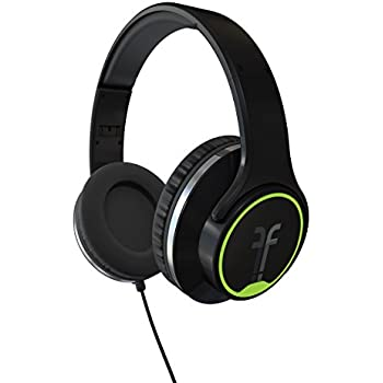 speakers headphones. flips audio fh2814bk collapsible hd headphones and stereo speakers, black speakers a