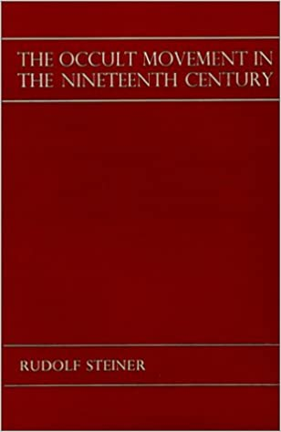 Book Occult Movement in the Nineteenth Century and Its Relation to Modern Culture