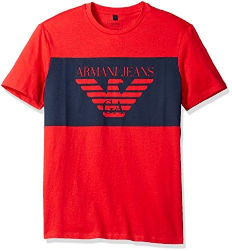 Armani-Jeans-Mens-Regular-Fit-Jersey-Logo-Block-T-Shirt
