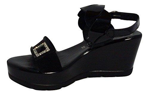 Black Sandals Fashion Women's Susimoda Black pwIxqfxHO