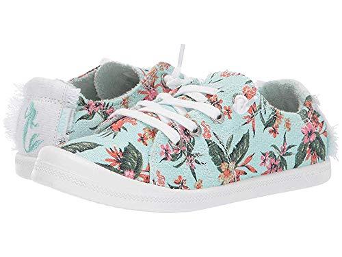 (Roxy Girls' Little Mermaid RG Bayshore Slip On Sneaker Shoe, Multi, 3 M US Big Kid)