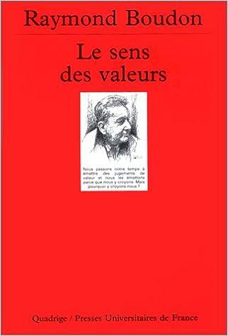 Livres Le Sens des valeurs epub pdf
